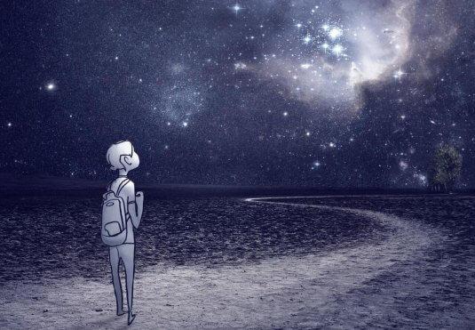 starry-sky-仰望星空