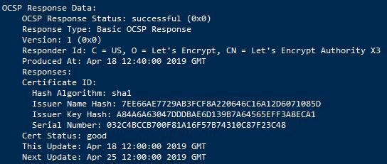 开启 ocsp-ssl 服务